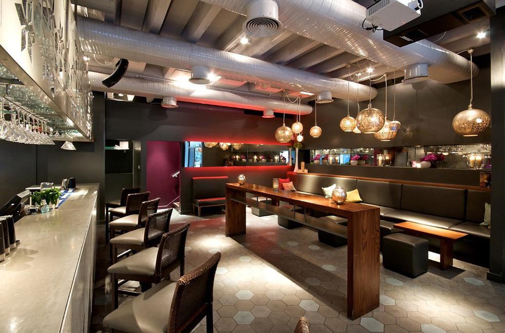 Anise Bar at Cinnamon Kitchen Restaurant, London EC2