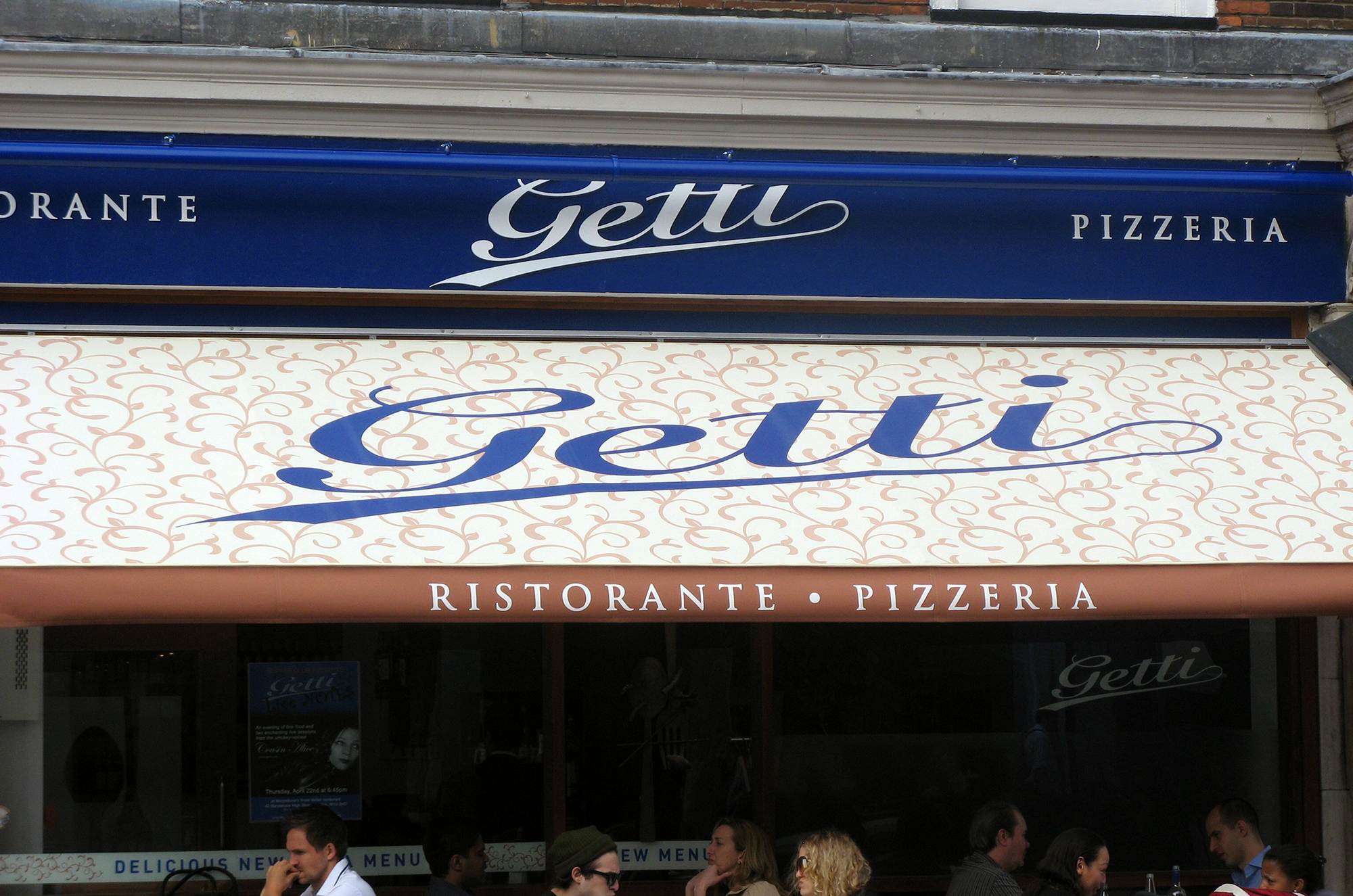 Getti Restaurant - Marylebone