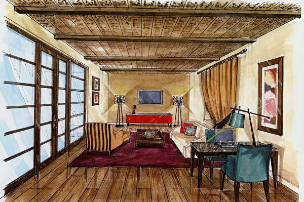 Illustrations Rory Cashin Design Interior Design