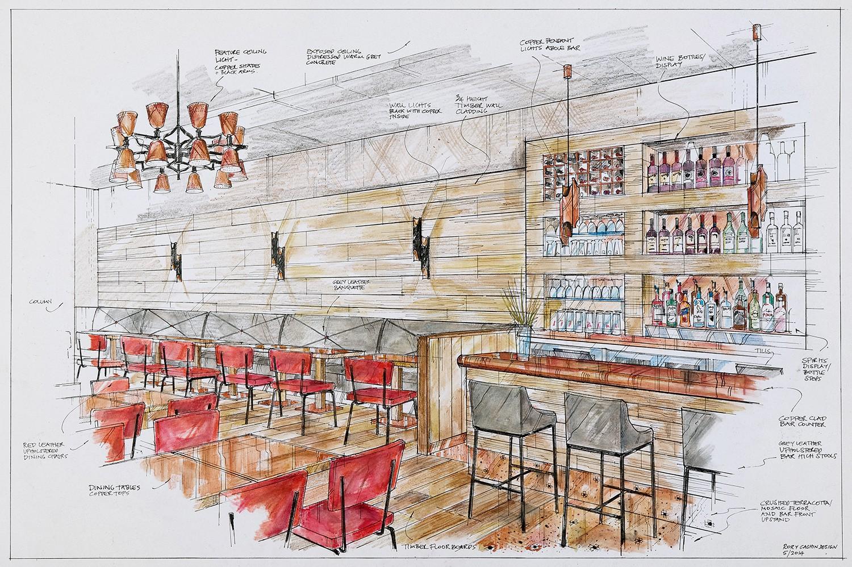 Italian pizza cafe concept rory cashin design interior